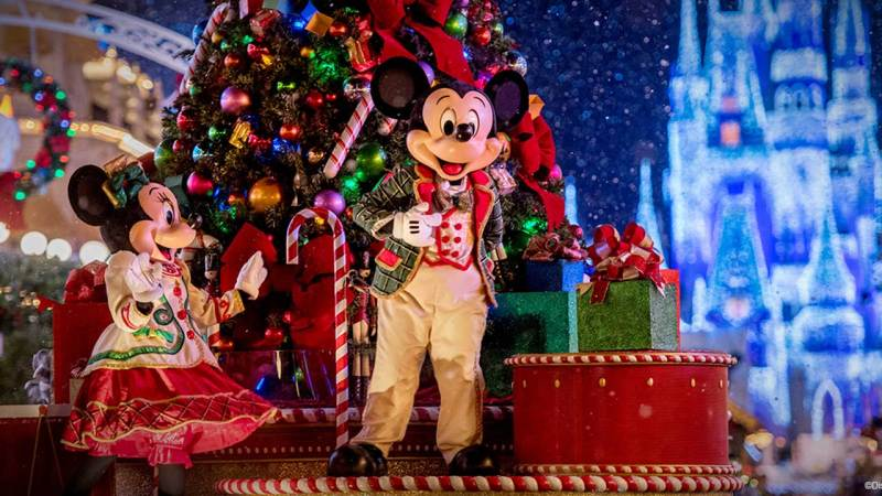 Walt Disney World Resort at Christmas