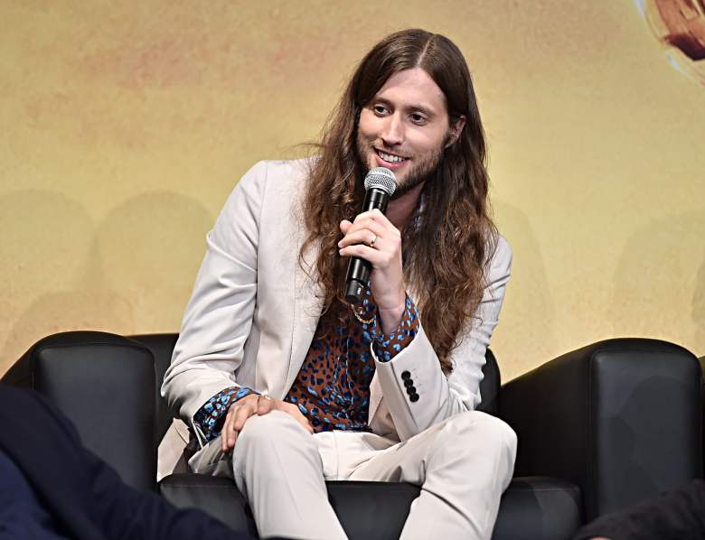 "HOLLYWOOD, CALIFORNIA - NOVEMBER 13: Composer Ludwig Göransson speaks onstage at the premiere of Lucasfilm's first-ever, live-action series, ""The Mandalorian,"" at the El Capitan Theatre in Hollywood, Calif. on November 13, 2019. ""The Mandalorian"" streams exclusively on Disney+. (Photo by Alberto E. Rodriguez/Getty Images for Disney)"