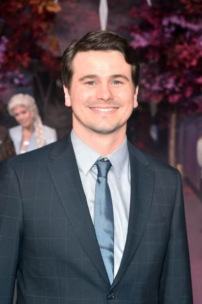 """HOLLYWOOD, CALIFORNIA - NOVEMBER 07: Actor Jason Ritter attends the world premiere of Disney's """"Frozen 2"""" at Hollywood's Dolby Theatre on Thursday, November 7, 2019 in Hollywood, California. (Photo by Alberto E. Rodriguez/Getty Images for Disney)"""