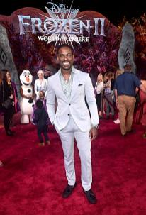 "HOLLYWOOD, CALIFORNIA - NOVEMBER 07: Actor Sterling K. Brown attends the world premiere of Disney's ""Frozen 2"" at Hollywood's Dolby Theatre on Thursday, November 7, 2019 in Hollywood, California. (Photo by Alberto E. Rodriguez/Getty Images for Disney)"