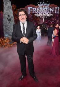 "HOLLYWOOD, CALIFORNIA - NOVEMBER 07: Actor Alfred Molina attends the world premiere of Disney's ""Frozen 2"" at Hollywood's Dolby Theatre on Thursday, November 7, 2019 in Hollywood, California. (Photo by Alberto E. Rodriguez/Getty Images for Disney)"