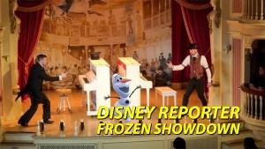 DISNEY Reporter - Frozen Showdown