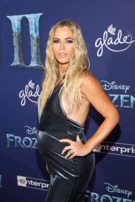 """HOLLYWOOD, CALIFORNIA - NOVEMBER 07: Teddi Jo Mellencamp attends the world premiere of Disney's """"Frozen 2"""" at Hollywood's Dolby Theatre on Thursday, November 7, 2019 in Hollywood, California. (Photo by Jesse Grant/Getty Images for Disney)"""