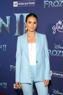 "HOLLYWOOD, CALIFORNIA - NOVEMBER 07: Jordana Brewster attends the world premiere of Disney's ""Frozen 2"" at Hollywood's Dolby Theatre on Thursday, November 7, 2019 in Hollywood, California. (Photo by Jesse Grant/Getty Images for Disney)"