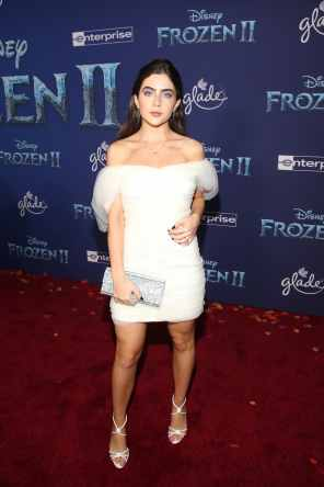 "HOLLYWOOD, CALIFORNIA - NOVEMBER 07: Jade Picon attends the world premiere of Disney's ""Frozen 2"" at Hollywood's Dolby Theatre on Thursday, November 7, 2019 in Hollywood, California. (Photo by Jesse Grant/Getty Images for Disney)"