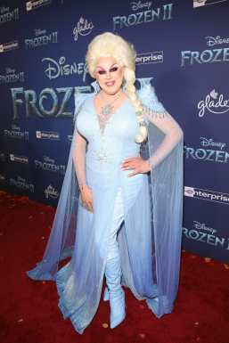 """HOLLYWOOD, CALIFORNIA - NOVEMBER 07: Nina West attends the world premiere of Disney's """"Frozen 2"""" at Hollywood's Dolby Theatre on Thursday, November 7, 2019 in Hollywood, California. (Photo by Jesse Grant/Getty Images for Disney)"""