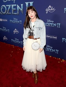 """HOLLYWOOD, CALIFORNIA - NOVEMBER 07: Seul-Gi An attends the world premiere of Disney's """"Frozen 2"""" at Hollywood's Dolby Theatre on Thursday, November 7, 2019 in Hollywood, California. (Photo by Jesse Grant/Getty Images for Disney)"""