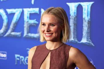 "HOLLYWOOD, CALIFORNIA - NOVEMBER 07: Actor Kristen Bell attends the world premiere of Disney's ""Frozen 2"" at Hollywood's Dolby Theatre on Thursday, November 7, 2019 in Hollywood, California. (Photo by Jesse Grant/Getty Images for Disney)"
