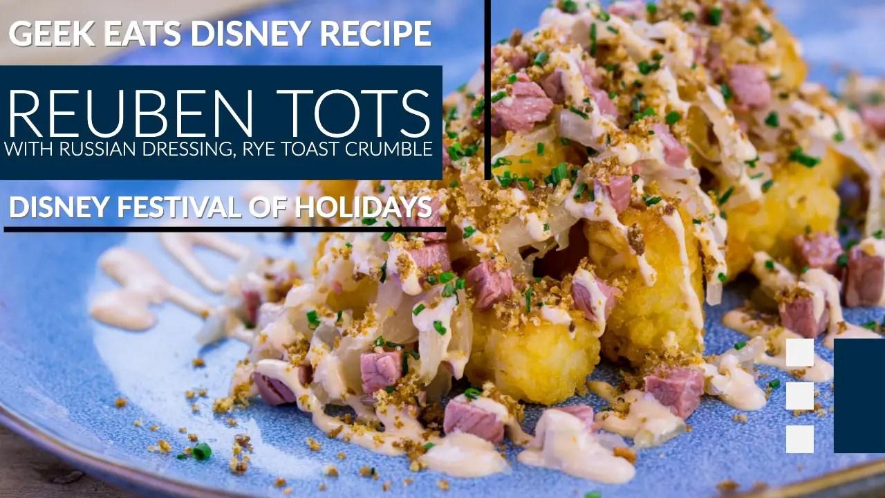 Reuben Tots GEEK EATS Disney Recipe