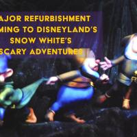 Changes Coming to Disneyland's Snow White's Scary Adventures in 2020 with Major Refurbishment