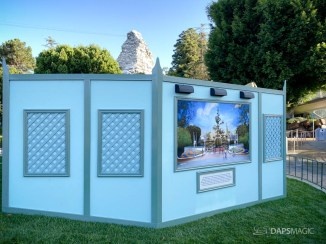 Tomorrowland Entrance Concept Art Unveiled at Disneyland-1