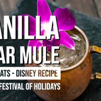 Vanilla Pear Mule - Disney Festival of Holidays – GEEK EATS Disney Recipe