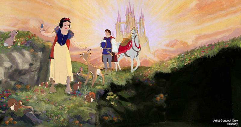 Snow White's Scary Adventures Concept Art