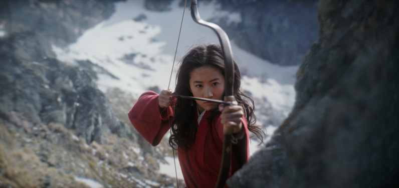 Disney's MULAN..Mulan (Yifei Liu)..Photo: Film Frame..© 2019 Disney Enterprises, Inc. All Rights Reserved.