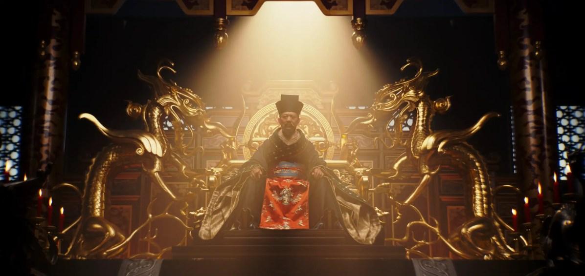 Disney's MULAN..The Emperor (Jet Li)..Photo: Film Frame..© 2019 Disney Enterprises, Inc. All Rights Reserved.