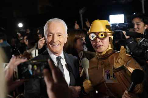 TOKYO, JAPAN - DECEMBER 11: Anthony Daniels poses for photos at the special fan event for 'Star Wars: The Rise of Skywalker' at Roppongi Hills on December 11, 2019 in Tokyo, Japan. (Photo by Christopher Jue/Getty Images for Disney)