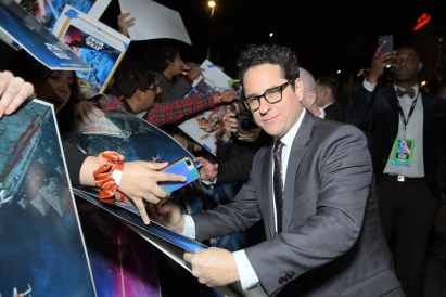 "HOLLYWOOD, CALIFORNIA - DECEMBER 16: Director, Writer and Producer J.J. Abrams arrives for the World Premiere of ""Star Wars: The Rise of Skywalker"", the highly anticipated conclusion of the Skywalker saga on December 16, 2019 in Hollywood, California. (Photo by Charley Gallay/Getty Images for Disney)"