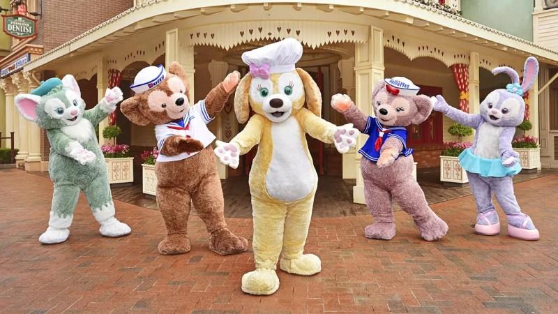 Duffy's Newest Friend CookieAnn Joins Shanghai Disney Resort