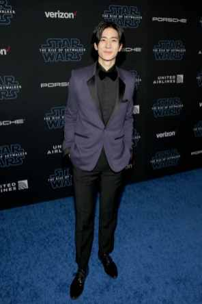 "HOLLYWOOD, CALIFORNIA - DECEMBER 16: Yuto Nakajima arrives for the World Premiere of ""Star Wars: The Rise of Skywalker"", the highly anticipated conclusion of the Skywalker saga on December 16, 2019 in Hollywood, California. (Photo by Jesse Grant/Getty Images for Disney)"
