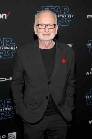 "HOLLYWOOD, CALIFORNIA - DECEMBER 16: Ian McDiarmid arrives for the World Premiere of ""Star Wars: The Rise of Skywalker"", the highly anticipated conclusion of the Skywalker saga on December 16, 2019 in Hollywood, California. (Photo by Jesse Grant/Getty Images for Disney)"