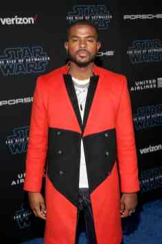 "HOLLYWOOD, CALIFORNIA - DECEMBER 16: Trevor Jackson arrives for the World Premiere of ""Star Wars: The Rise of Skywalker"", the highly anticipated conclusion of the Skywalker saga on December 16, 2019 in Hollywood, California. (Photo by Jesse Grant/Getty Images for Disney)"