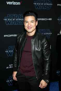 "HOLLYWOOD, CALIFORNIA - DECEMBER 16: Mario Lopez arrives for the World Premiere of ""Star Wars: The Rise of Skywalker"", the highly anticipated conclusion of the Skywalker saga on December 16, 2019 in Hollywood, California. (Photo by Jesse Grant/Getty Images for Disney)"