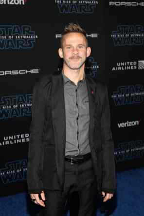 "HOLLYWOOD, CALIFORNIA - DECEMBER 16: Dominic Monaghan arrives for the World Premiere of ""Star Wars: The Rise of Skywalker"", the highly anticipated conclusion of the Skywalker saga on December 16, 2019 in Hollywood, California. (Photo by Jesse Grant/Getty Images for Disney)"