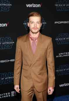 "HOLLYWOOD, CALIFORNIA - DECEMBER 16: Cameron Monaghan arrives for the World Premiere of ""Star Wars: The Rise of Skywalker"", the highly anticipated conclusion of the Skywalker saga on December 16, 2019 in Hollywood, California. (Photo by Jesse Grant/Getty Images for Disney)"