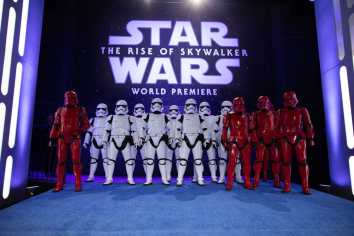A view of the World Premiere of Star Wars: The Rise of Skywalker, the highly anticipated conclusion of the Skywalker saga, in Hollywood, CA, on December 16, 2019..(photo: Alex J. Berliner/ABImages)