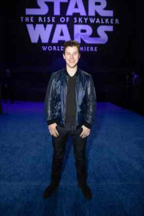 Nolan Gould arrives for the World Premiere of Star Wars: The Rise of Skywalker, the highly anticipated conclusion of the Skywalker saga, in Hollywood, CA, on December 16, 2019..(photo: Alex J. Berliner/ABImages)