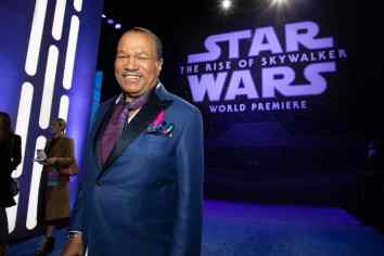 Billy Dee Williams arrives for the World Premiere of Star Wars: The Rise of Skywalker, the highly anticipated conclusion of the Skywalker saga, in Hollywood, CA, on December 16, 2019..(photo: Alex J. Berliner/ABImages)