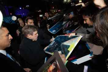 Mark Hamill signs autographs at the World Premiere of Star Wars: The Rise of Skywalker, the highly anticipated conclusion of the Skywalker saga, in Hollywood, CA, on December 16, 2019..(photo: Alex J. Berliner/ABImages)