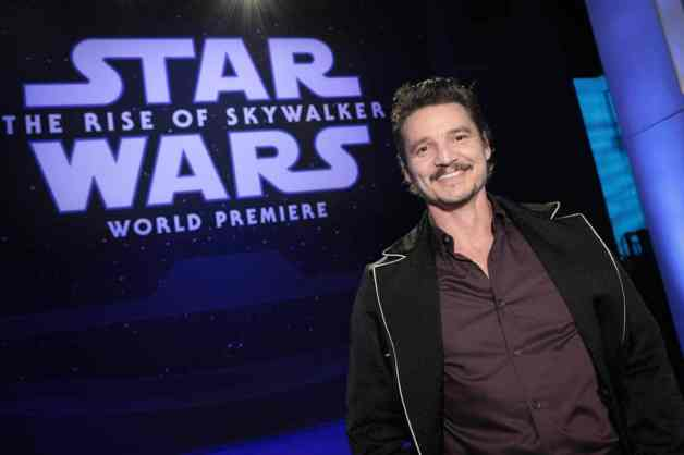 Pedro Pascal arrives for the World Premiere of Star Wars: The Rise of Skywalker, the highly anticipated conclusion of the Skywalker saga, in Hollywood, CA, on December 16, 2019. (photo: Alex J. Berliner/ABImages)