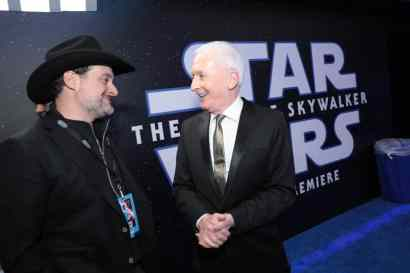 Dave Filoni, Anthony Daniels attend the World Premiere of Star Wars: The Rise of Skywalker, the highly anticipated conclusion of the Skywalker saga after party, in Hollywood, CA, on December 16, 2019. (photo: Alex J. Berliner/ABImages)