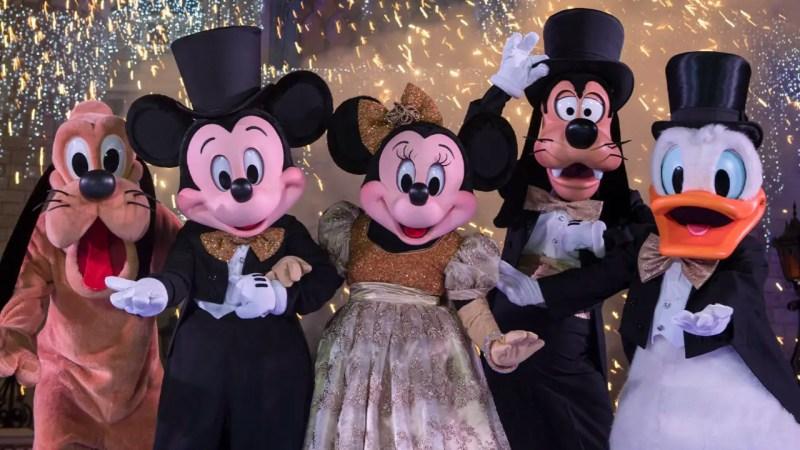 New Year's Eve at Walt Disney World Resort