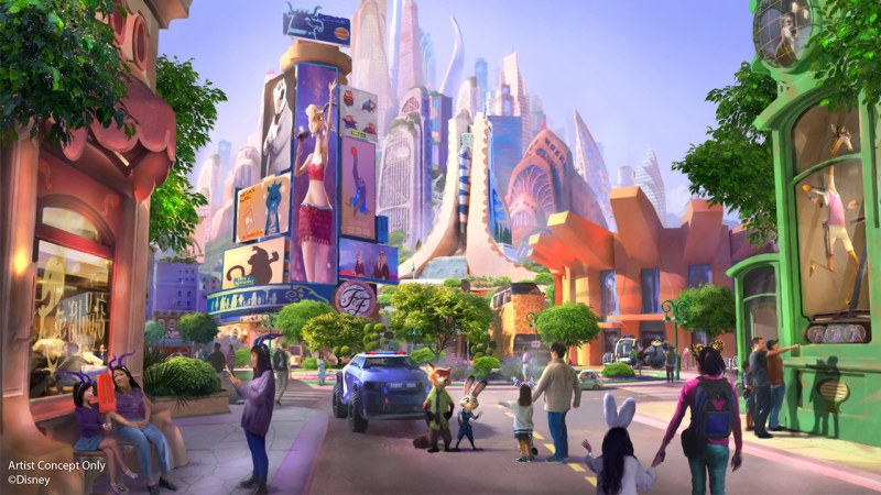 Zootopia Themed Land - Shanghai Disney Resort