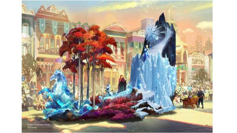 Frozen Float - Magic Happens