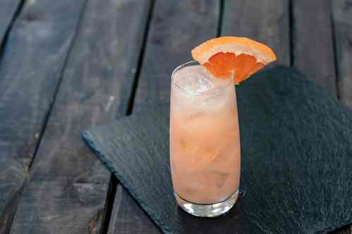 This lychee grapefruit spritzer can be found at Disney California Adventure Park as Disneyland Resort celebrates the Year of the Mouse this Lunar New Year, Jan. 17 through Feb. 9, 2020. During the 24 days of this multicultural celebration, guests will enjoy exciting live entertainment and musical performances, plus inspired food and beverage items across festival marketplaces. (David/Nguyen Disneyland Resort)