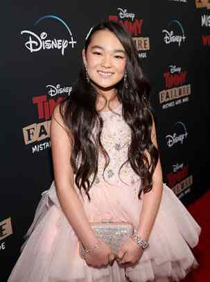 """HOLLYWOOD, CALIFORNIA - JANUARY 30: Ai-Chan Carrier attends the premiere of Disney's """"Timmy Failure: Mistakes Were Made"""" at Hollywood's El Capitan Theater on January 30, 2020. """"Timmy Failure: Mistakes Were Made"""" premieres on February 7, 2020, streaming only on Disney+. (Photo by Jesse Grant/Getty Images for Disney)"""