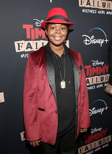 """HOLLYWOOD, CALIFORNIA - JANUARY 30: Kei attends the premiere of Disney's """"Timmy Failure: Mistakes Were Made"""" at Hollywood's El Capitan Theater on January 30, 2020. """"Timmy Failure: Mistakes Were Made"""" premieres on February 7, 2020, streaming only on Disney+. (Photo by Jesse Grant/Getty Images for Disney)"""