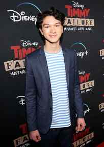 """HOLLYWOOD, CALIFORNIA - JANUARY 30: Charlie Bushnell attends the premiere of Disney's """"Timmy Failure: Mistakes Were Made"""" at Hollywood's El Capitan Theater on January 30, 2020. """"Timmy Failure: Mistakes Were Made"""" premieres on February 7, 2020, streaming only on Disney+. (Photo by Jesse Grant/Getty Images for Disney)"""