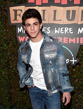 """HOLLYWOOD, CALIFORNIA - JANUARY 30: Brandon Rossel attends the premiere of Disney's """"Timmy Failure: Mistakes Were Made"""" at Hollywood's El Capitan Theater on January 30, 2020. """"Timmy Failure: Mistakes Were Made"""" premieres on February 7, 2020, streaming only on Disney+. (Photo by Alberto E. Rodriguez/Getty Images for Disney)"""