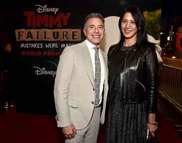 """HOLLYWOOD, CALIFORNIA - JANUARY 30: President, Content and Marketing for Disney+ Ricky Strauss and Senior Vice President, Content, for Disney+ Agnes Chu attend the premiere of Disney's """"Timmy Failure: Mistakes Were Made"""" at Hollywood's El Capitan Theater on January 30, 2020. """"Timmy Failure: Mistakes Were Made"""" premieres on February 7, 2020, streaming only on Disney+. (Photo by Alberto E. Rodriguez/Getty Images for Disney)"""