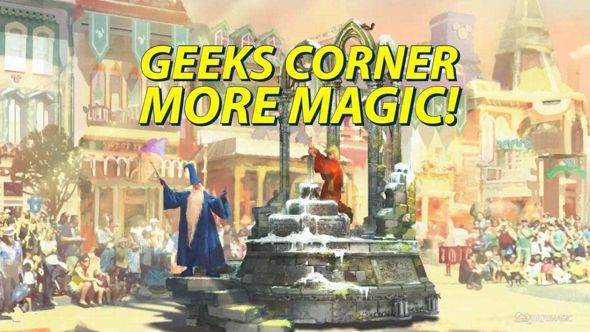 GEEKS CORNER - More Magic!