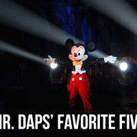 Mr. DAPs' Favorite Five - Shows at the Disneyland Resort