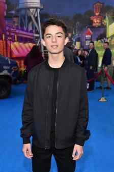 HOLLYWOOD, CALIFORNIA - FEBRUARY 18: Max Torina attends the world premiere of Disney and Pixar's ONWARD at the El Capitan Theatre on February 18, 2020 in Hollywood, California. (Photo by Alberto E. Rodriguez/Getty Images for Disney)