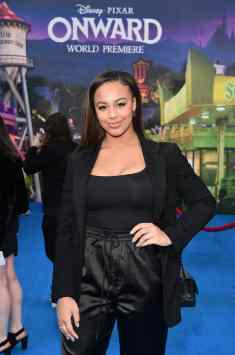 HOLLYWOOD, CALIFORNIA - FEBRUARY 18: Nia Sioux attends the world premiere of Disney and Pixar's ONWARD at the El Capitan Theatre on February 18, 2020 in Hollywood, California. (Photo by Alberto E. Rodriguez/Getty Images for Disney)
