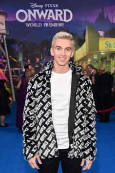 HOLLYWOOD, CALIFORNIA - FEBRUARY 18: Stephen Sharer attends the world premiere of Disney and Pixar's ONWARD at the El Capitan Theatre on February 18, 2020 in Hollywood, California. (Photo by Alberto E. Rodriguez/Getty Images for Disney)
