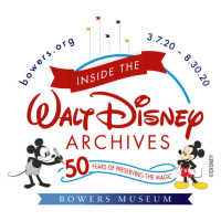 Tickets Now On Sale For The Walt Disney Archives Exhibit at the Bowers Museum