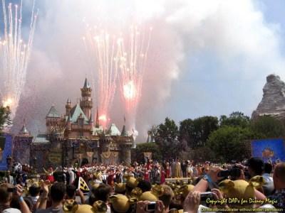 Sleeping Beauty Castle - Disneyland 50th Anniversary